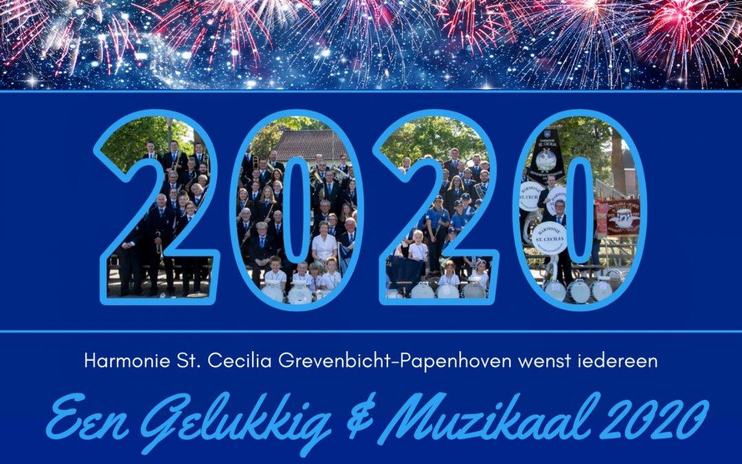 Een gelukkig & muzikaal 2020 gewenst!