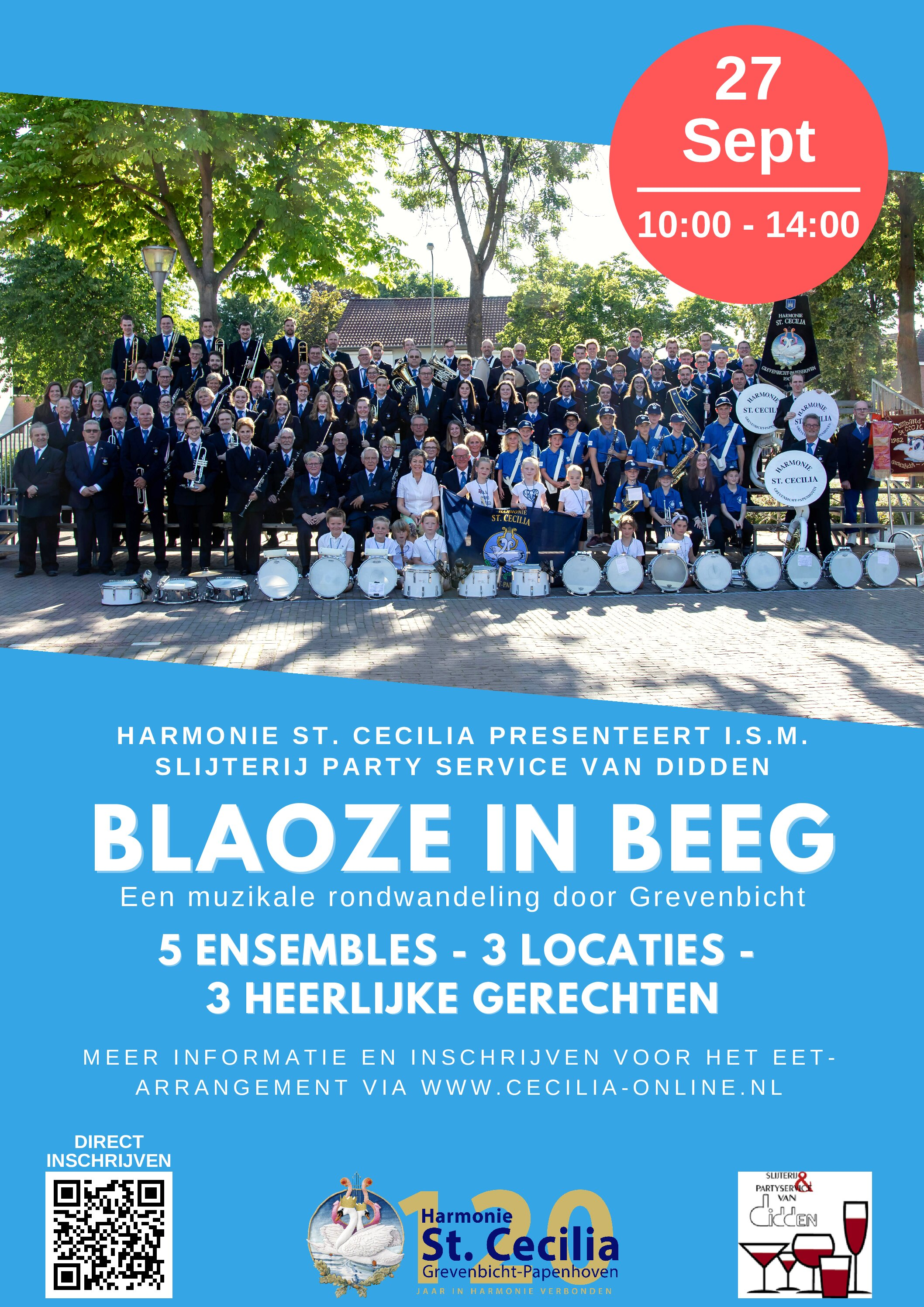 Doe mee met Blaoze in Beeg: een muzikale rondwandeling!