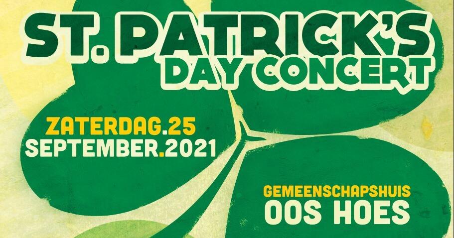 St. Patrick's Day concert (opnieuw) uitgesteld
